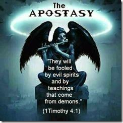 First Timothy 4 1 The Apostasy